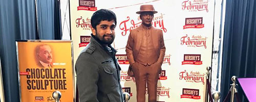 Food Science Alumni Utkarsh Shah is using his Ph.D. at the Hershey Company.